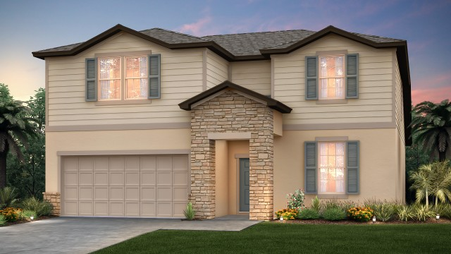 New homes in Kissimmee at East Lake Preserve