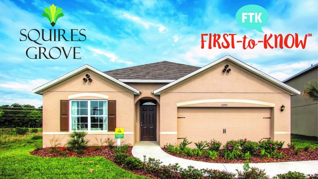 Squires Grove new homes in Winter Haven Florida