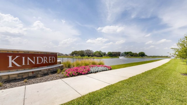 New homes for sale at Kindred in Kissimmee Florida