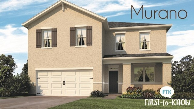 New homes for sale in Kissimmee at Murano