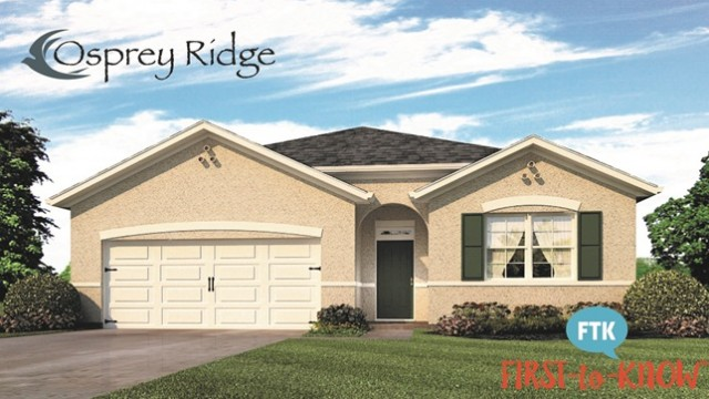 New homes for sale in Kissimmee at Osprey Ridge