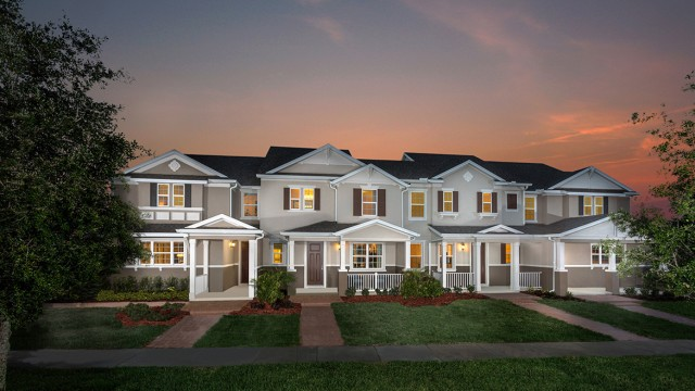 New townhomes for sale in Windermere at Vineyard Square II