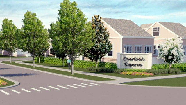 Overlook Reserve new homes in Kissimmee