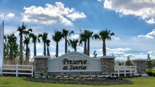 New homes for sale T Preserve at Sunrise in Groveland