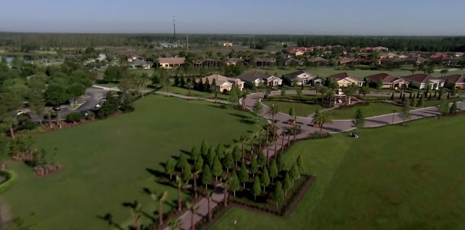 Solivita +55 community in Kissimmee