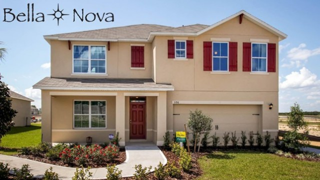 New homes for sale in Davenport at Bella Nova community