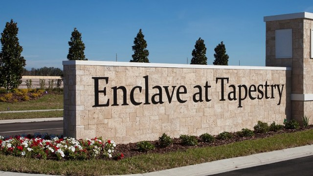 Enclave at Tapestry new homes for sale in Kissimmee