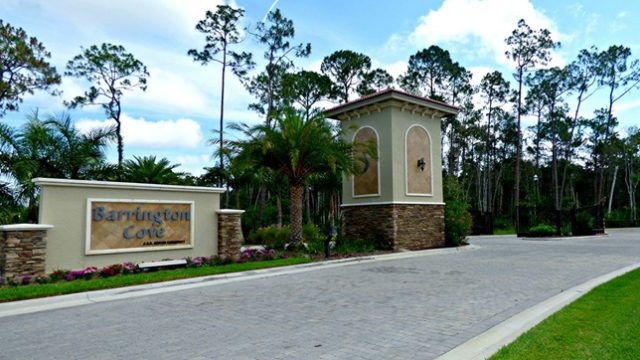 New homes for sale at Barrington Cove in Naples Fl