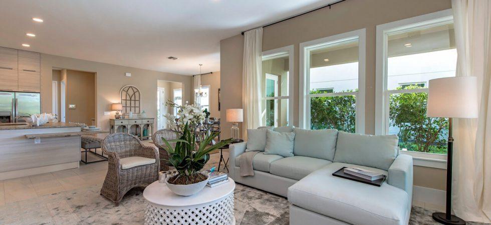Casas nuevas en venta en Garza de aterrizar en la Reserva de Nápoles