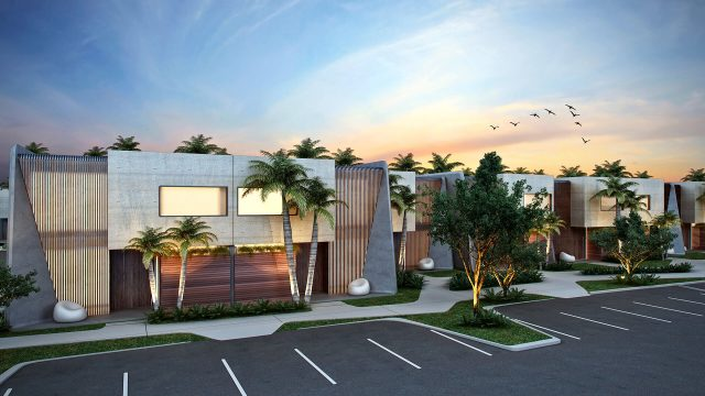 Luxury homes in Orlando at New homes and condos at Magic Village by Pininfarina.
