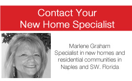StoneCreek in Naples new homes specialist