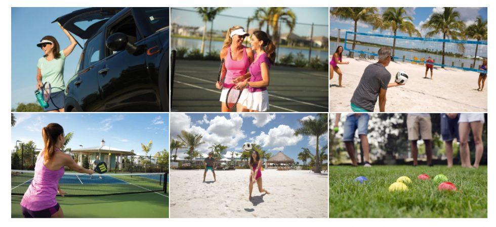 Nápoles Reserva em Nápoles Racquet Club. Não é Wimbledon, mas ele vai fazer, perfeitamente