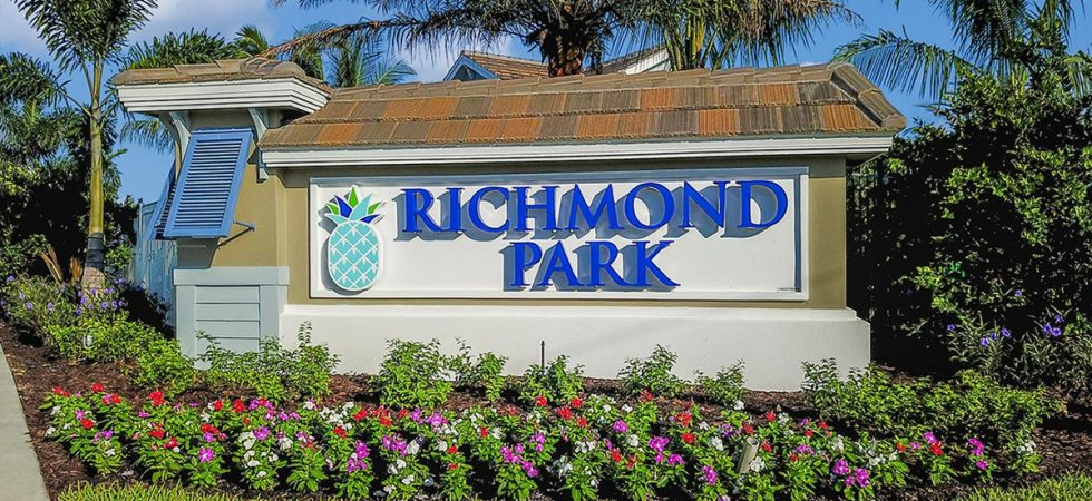 New carriage home for sale at Richmond Park in Naples