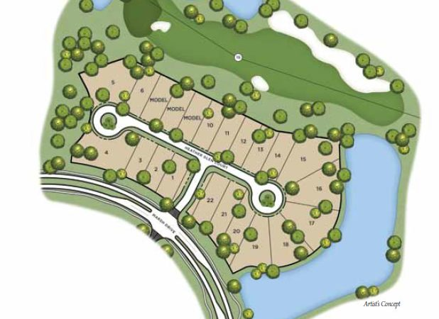 Site Plan of Marsh Cove at Fiddlers Creek
