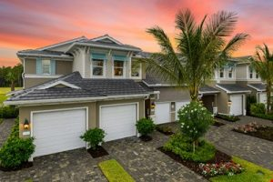 New carriage homes for sale at Avalon in Naples Florida