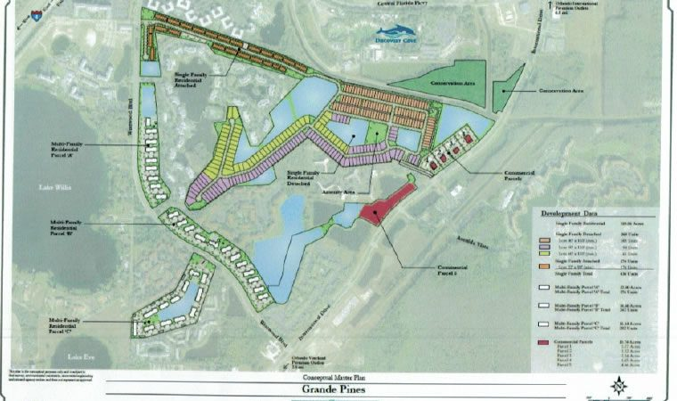 Grand Pines Resort Orlando site plan