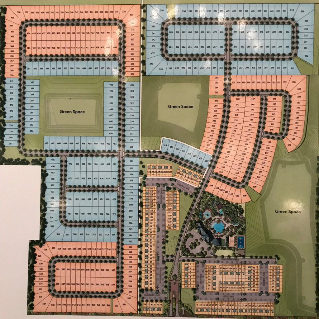 Windsor Island Resort site plan