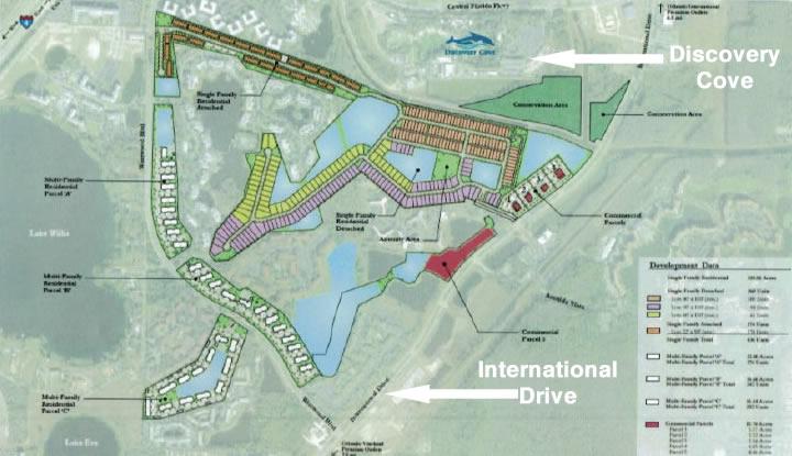 Paradiso Grande Site Plan and Location
