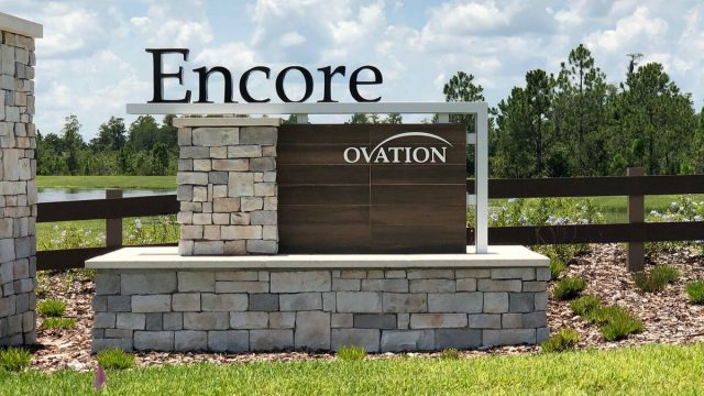 Encore at Ovation new homes for sale in Winter Garden